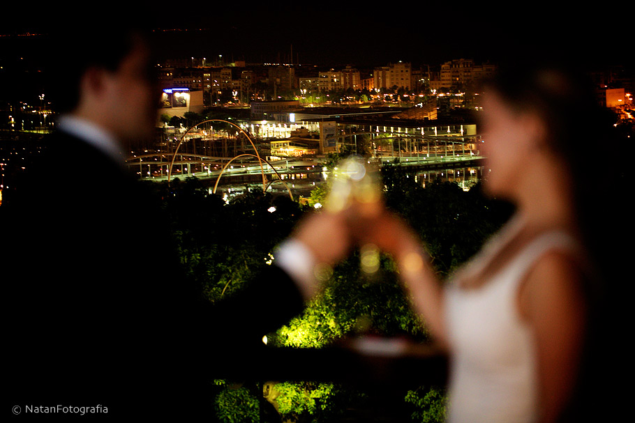 Wedding Photos Barcelona Night Center