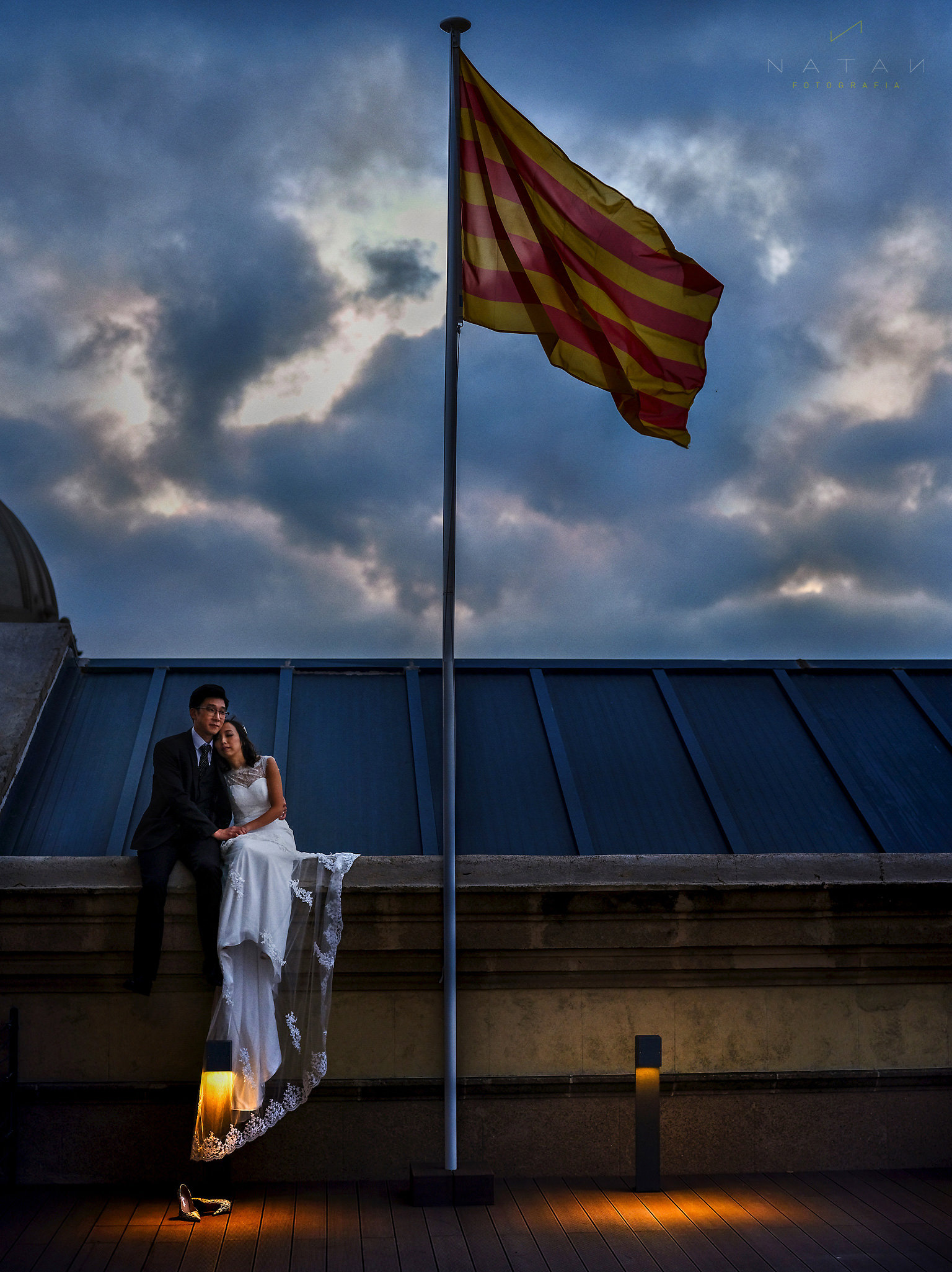 Wedding Chinese couple Photography session in Barcelona