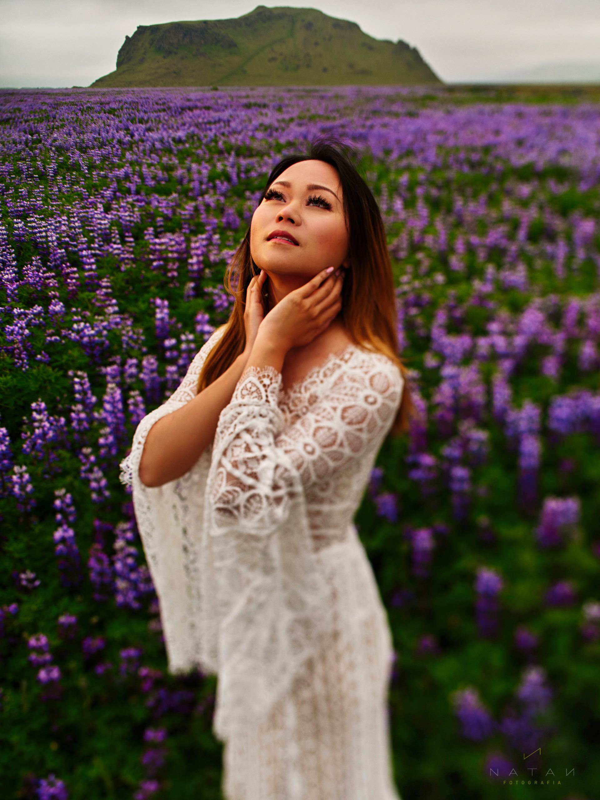 asian girl elopement in Iceland