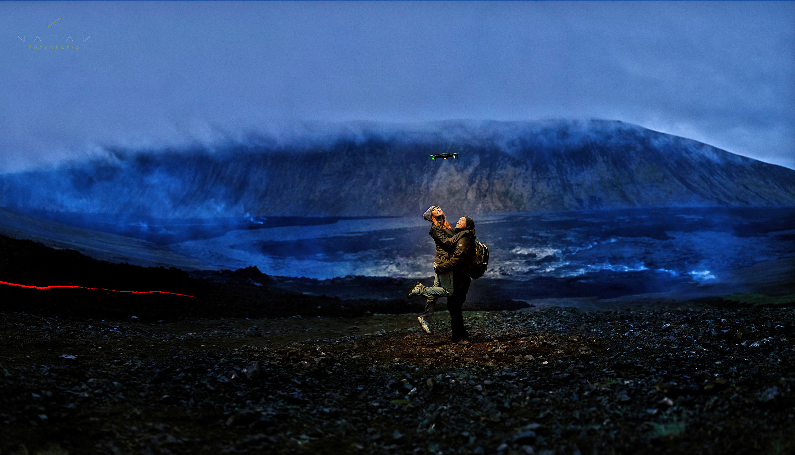 Lava Volcano Iceland Elopement Photography - Funny image