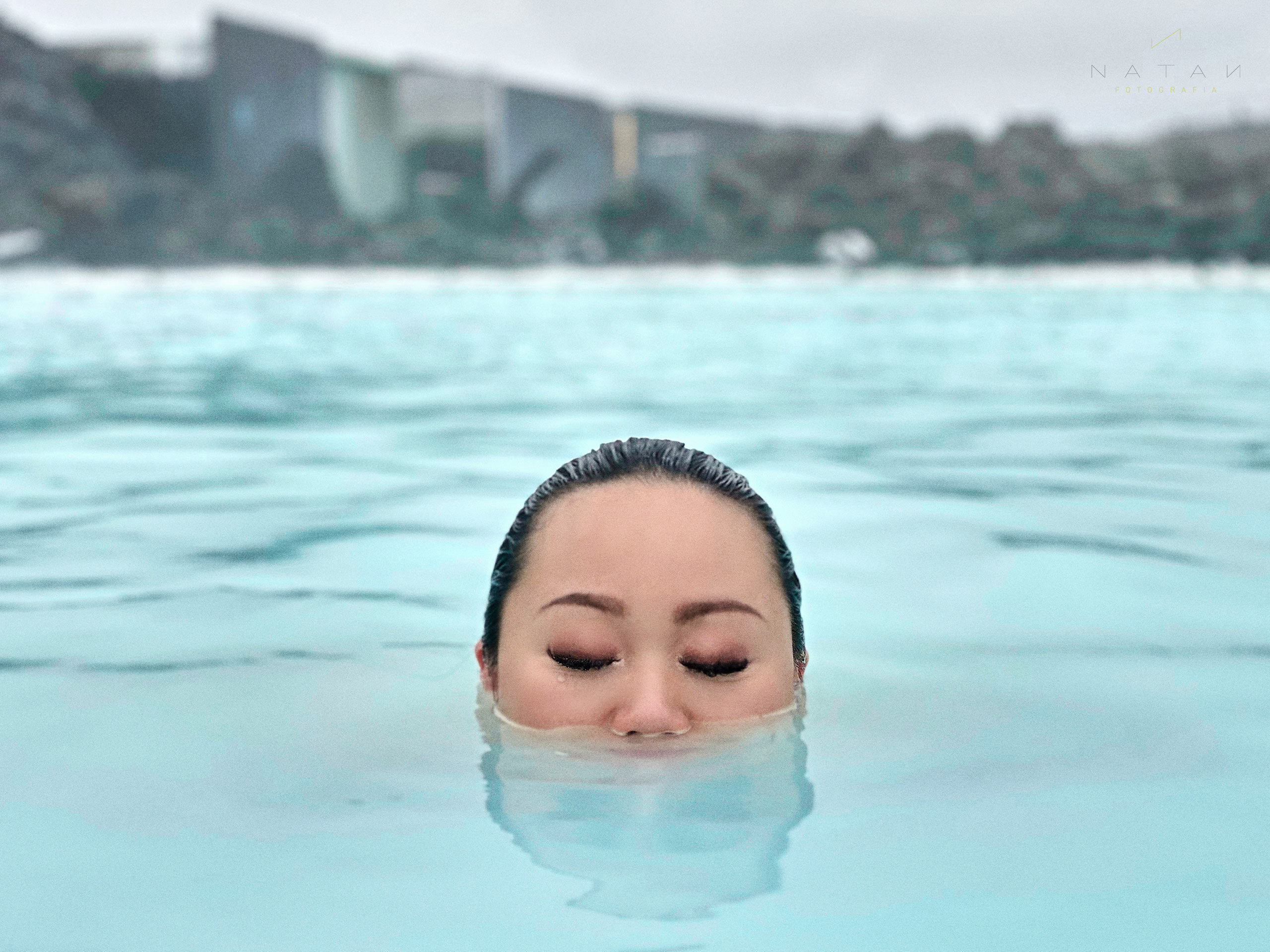 Blue Lagoon asian girl picture